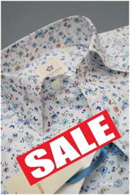 アルテムフラワー半袖プリントシャツ