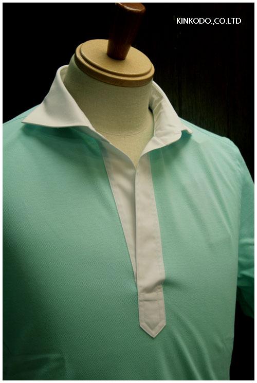 ギ・ローバーのポロシャツペパーミントグリーン