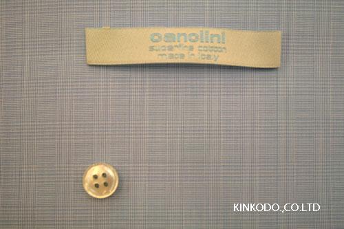 カンクリーニ170番手双糸グレンチェック柄