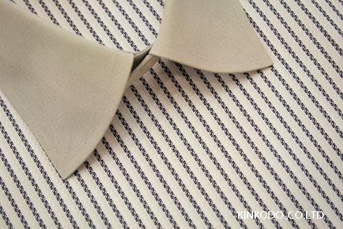 ブルー変わり織り